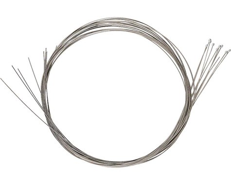 Campagnolo Derailleur/Shift Cable (Campagnolo) (Stainless) (1.2mm) (2000mm) (10 Pack)