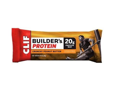 Clif Bar Builder's Protein Bar (Crunchy Peanut Butter) (12 | 2.4oz Packets)