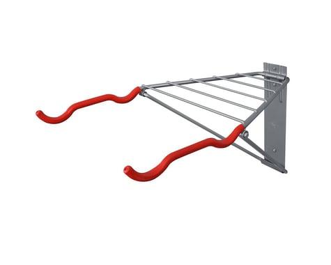 Delta Pablo Folding Bike Rack (Grey/Red) (2 Bikes)