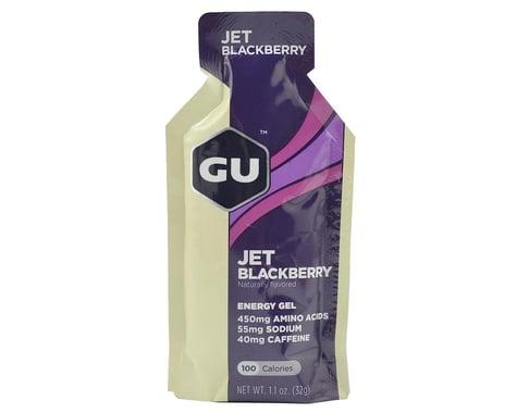 GU Energy Gel (Jet Blackberry) (24 | 1.1oz Packets)
