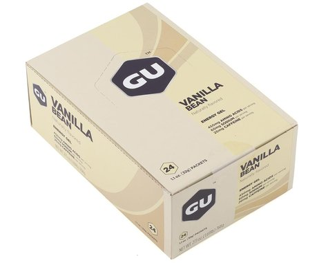 GU Energy Gel (Vanilla Bean) (24 | 1.1oz Packets)