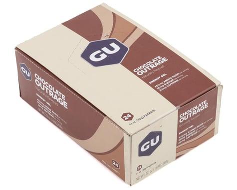 GU Energy Gel (Chocolate Outrage) (24 | 1.1oz Packets)