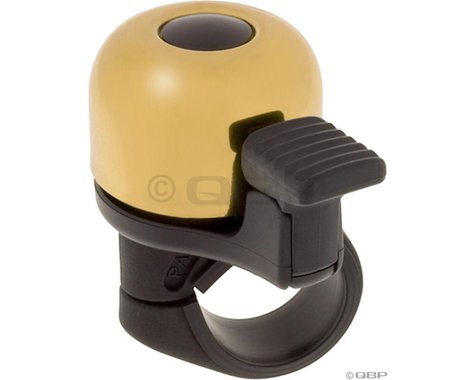 Mirrycle Incredibell Original Handlebar Bell (Brass)