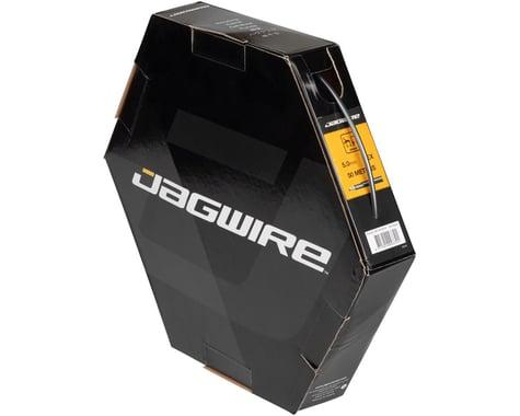 Jagwire 4mm Basics Derailleur Housing 50M File Box (Ice Gray)