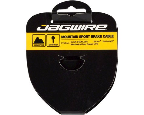 Jagwire Sport Tandem Mountain Brake Cable (Stainless) (1.5mm) (2750mm) (1 Pack)