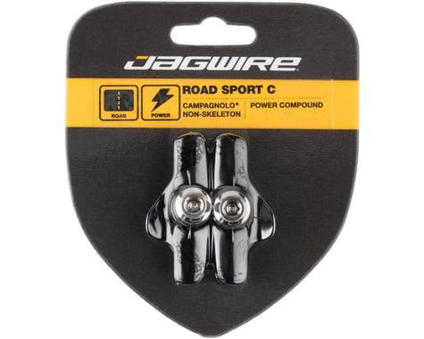 Jagwire Road Sport C Brake Pads (Black) (Campagnolo Non-Skeleton) (1 Pair)