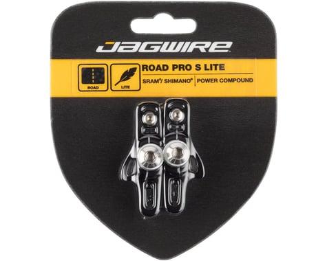 Jagwire Road Pro S Brake Pads (Black) (Shimano/SRAM) (1 Pair)