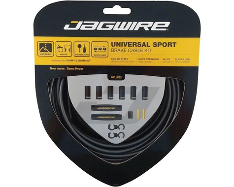 Jagwire Universal Sport Brake Cable Kit (Ice Grey) (Stainless) (Road & Mountain) (1.5mm) (1350/2350mm)