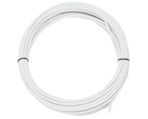 Jagwire Sport Derailleur Cable Housing (White) (4mm) (10 Meters)