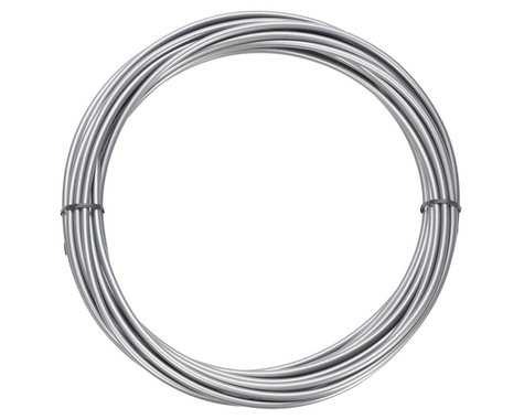 Jagwire Sport Derailleur Cable Housing (Pearl Silver) (4mm) (10 Meters)