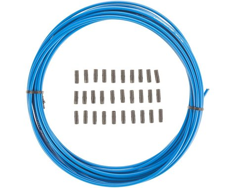 Jagwire Sport Derailleur Cable Housing (Blue) (4mm) (10 Meters)