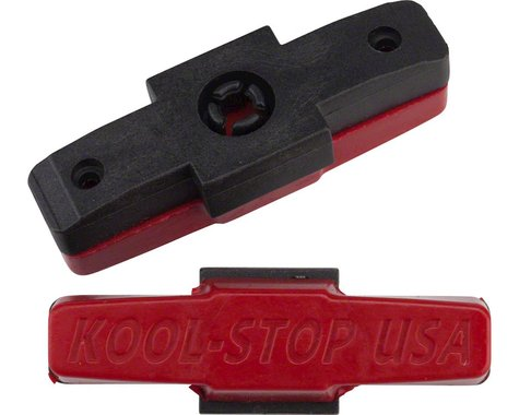 Kool Stop Magura HS33 Replacement Trials Pads (Red) (1 Pair)