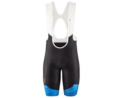 Louis Garneau Men's Neo Power Art Bib Shorts (Blue) (S)
