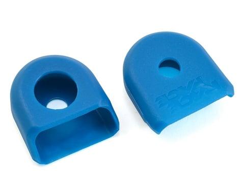 Race Face Crank Boots for Carbon Cranks (Blue) (2)