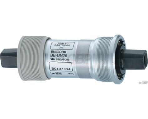 Shimano UN26 Square Taper Bottom Bracket (Silver) (BSA) (73mm) (113mm)