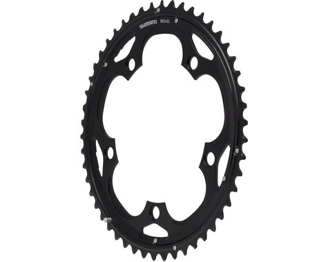 Shimano 105 5703-L Triple Outer Chainring (Black) (130mm BCD) (Offset N/A) (50T)