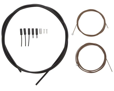 Shimano Dura Ace Road Shift Cable/Housing Set (Black) (Polymer Coated)