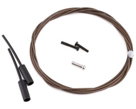 Shimano Dura-Ace Polymer-Coated Derailleur Cable (Shimano/SRAM) (Stainless) (1.2mm) (2100mm) (1 Pack)
