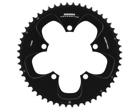 SRAM Red/Force 10-Speed Outer Chainring (Black) (110mm) (Offset N/A) (52T)