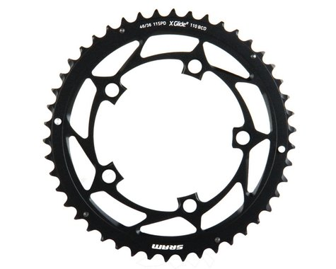 SRAM 11-Speed Outer Chainring (Black) (110mm BCD) (Offset N/A) (46T)