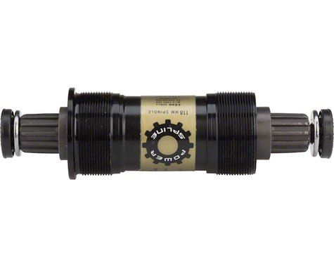Truvativ PowerSpline Bottom Bracket (Black) (BSA) (68mm) (118mm)