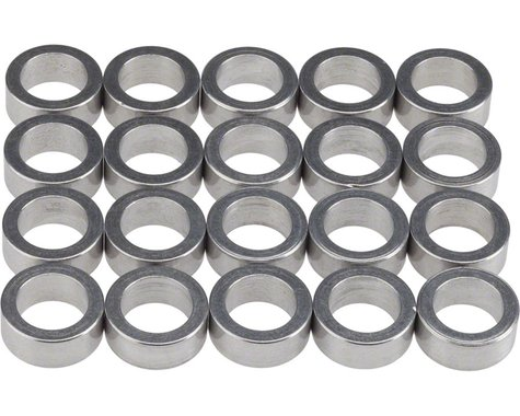 Wheels Manufacturing Aluminum Chainring Spacers (Bag of 20) (5mm)