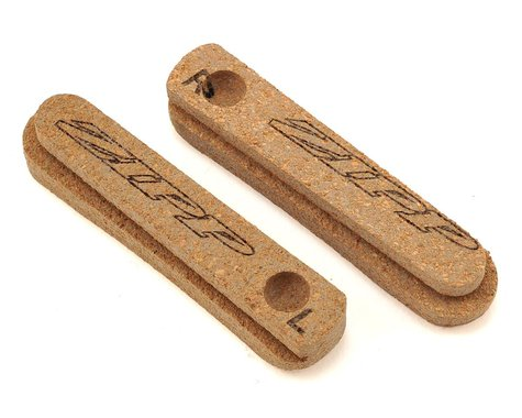 Zipp Tangente High Performance Cork Brake Pad Inserts (Brown) (1 Pair)